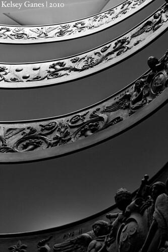 Musei Vaticani - Staircase