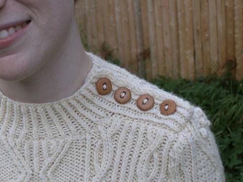 Closeup of buttons
