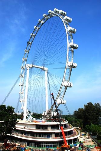 Singapore Flyer ,Marina Bay, Singapore : Wow