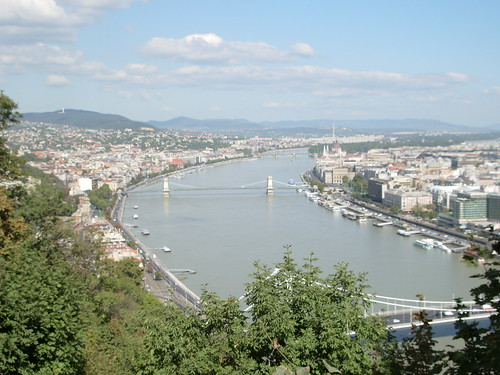 Bridges seen from Gellert Hill