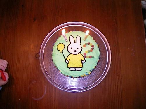 Miffy cake - Caitlin's 2nd birthday