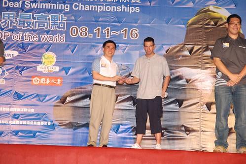 2007聽障游泳錦標賽-閉幕典禮-比利時