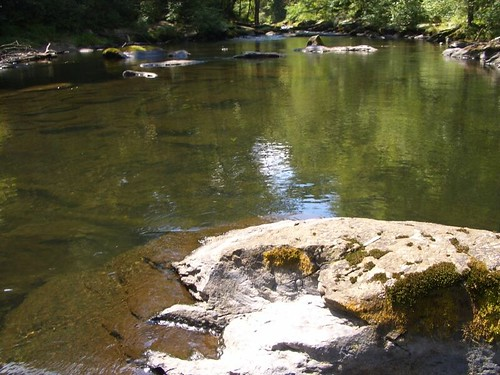 Low Water pool on the Gunpowder River
