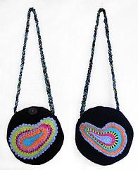 paisley purse front & back