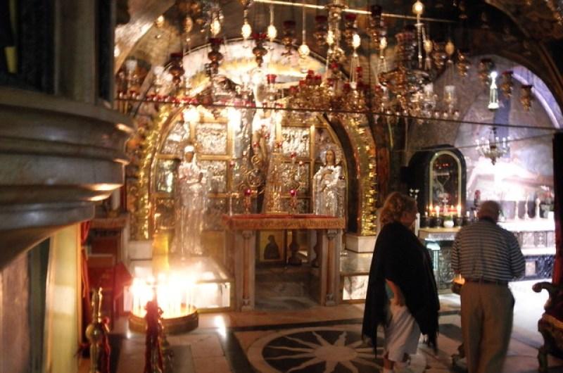 Calvary, Church of the Holy Sepulchre