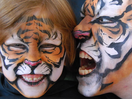 Alnepo Buzz Tiger Face Painting Ideas