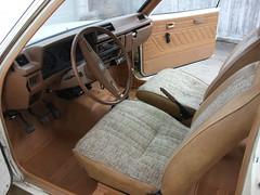 Interior cleaned - 1981 Datsun 210