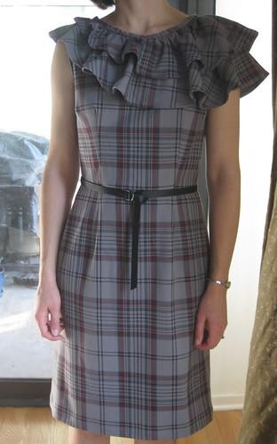 Ruffle Dress Finished