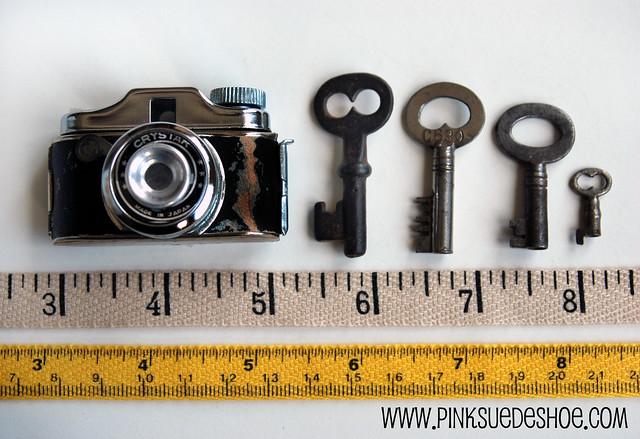 camera and keys