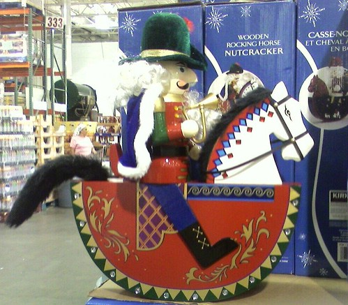 Christmas decorations on sale at Costco before Labor Day
