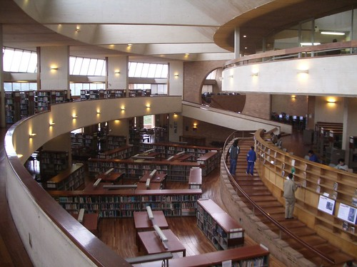 Bogota City Library - Interior