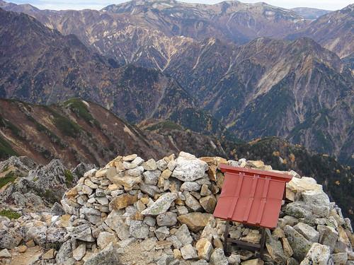 Hiking at North Japan Alps