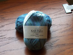 Knit Picks Risata in Coastal