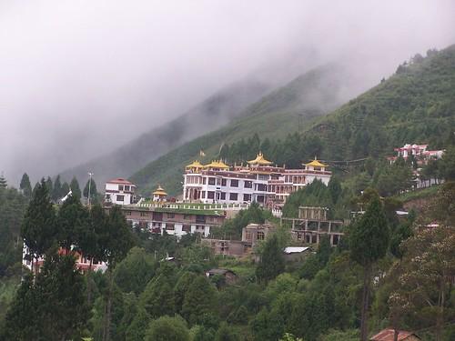 Bomdila Town Monastry, Arunachal, India
