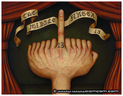 The Middle Finger by Naoto Hattori