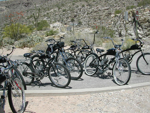 motorized bicycles by It's me, Bender!.