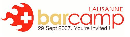 BarCamp Lausanne Banner