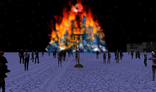 Temple Burn 2010