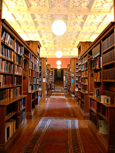 Library at King's College, Cambridge