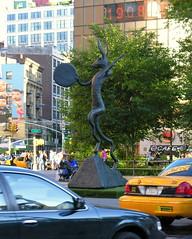 Barry Flanagan's bronze sculpture