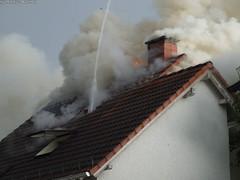 Dachstuhlbrand Sonnenberg 09.06.07