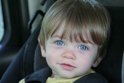 ...behind blue eyes...