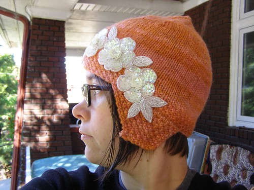 grandma's crayon flapper hat