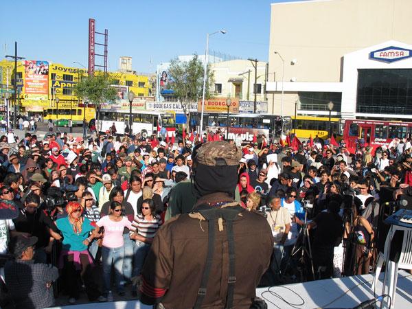 La otra campaña en Nuevo Leon