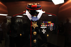 Dress blues of Medal of Honor recipient, Cpl. ...