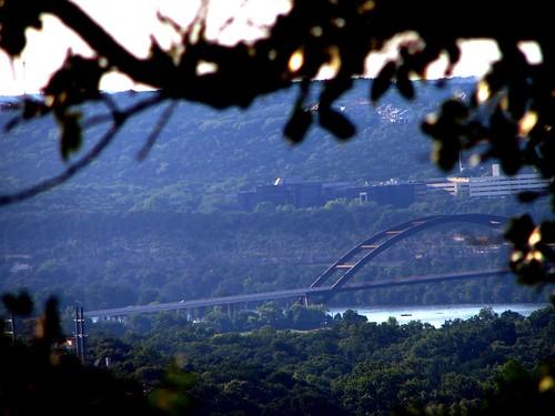 Loop 360 Bridge from Mount Bonnell