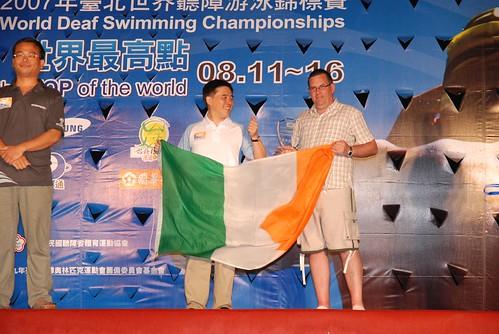 2007聽障游泳錦標賽-閉幕典禮-愛爾�