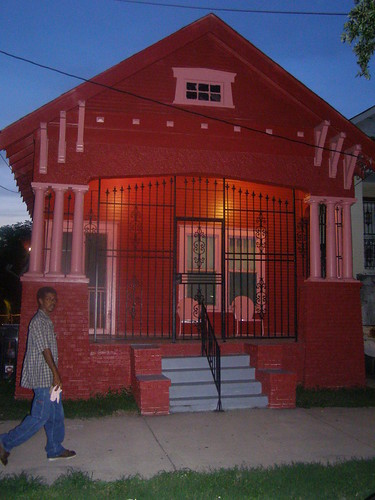 Nighttime at Little Pink..A Happy House on N.Broad