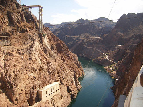 Hoover Dam, Lake Mojave Side
