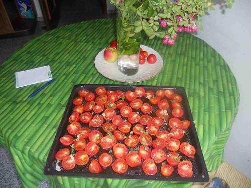 teglia di pomodorini