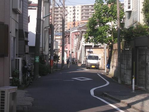Calles con curvas