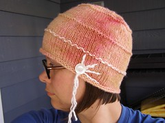 peach melba hat