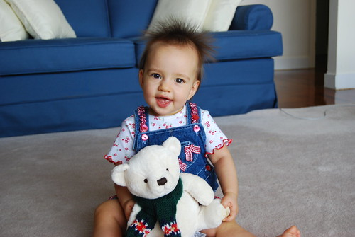 Riley w/ Her Bear II