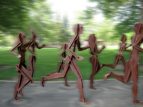 Runners In Motion