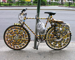 The bicycle near Union Square Park
