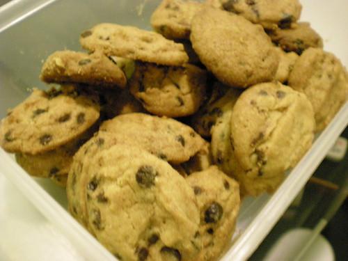 Cynthia's chocolate chip cookies