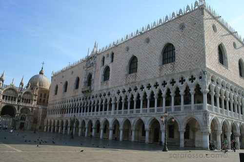 The Doge's Palace and St. Mark's Basilica