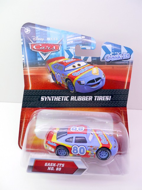 DISNEY CARS KMART COLLECTOR DAY 5  GASK-ITS RACER (1)