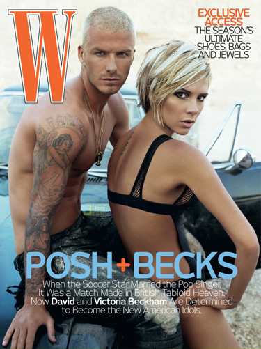 POSH + BECKS on W Magazine