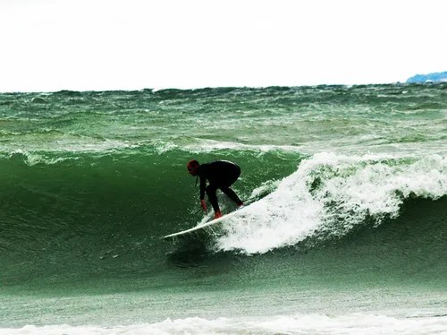 Surfing Leelanau