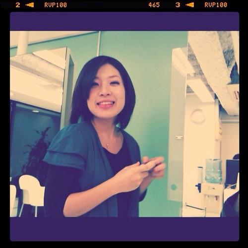 美容師さん、激写1