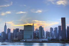 Manhattan, New York City Skyline