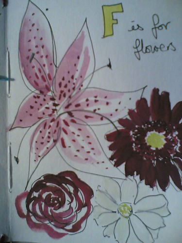 F is for Flowers