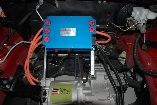 Remy motor in a ZAP Jonway electric SUV/TAXI at EVS-25