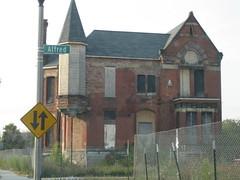 Detroit, abandon building