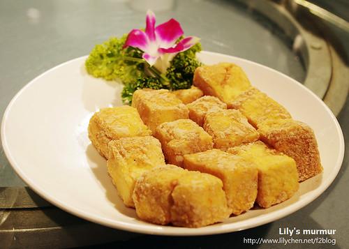 豐華小館的脆皮豆腐。